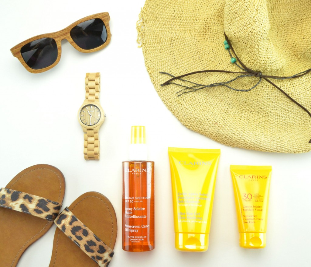 Clarins Suncare Line Review