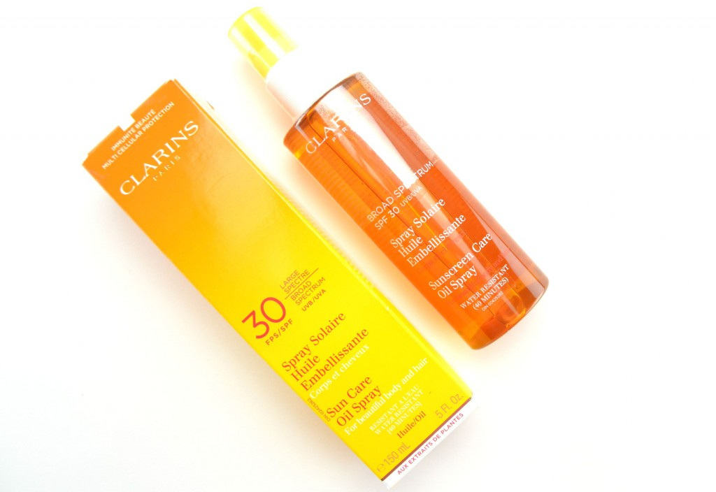 Clarins Sun Care Radiant Oil Spray High Protection UVB/UVA 30