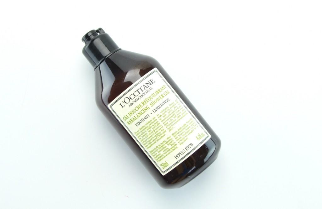L'Occitane Rebalancing Exfoliating Shower Gel