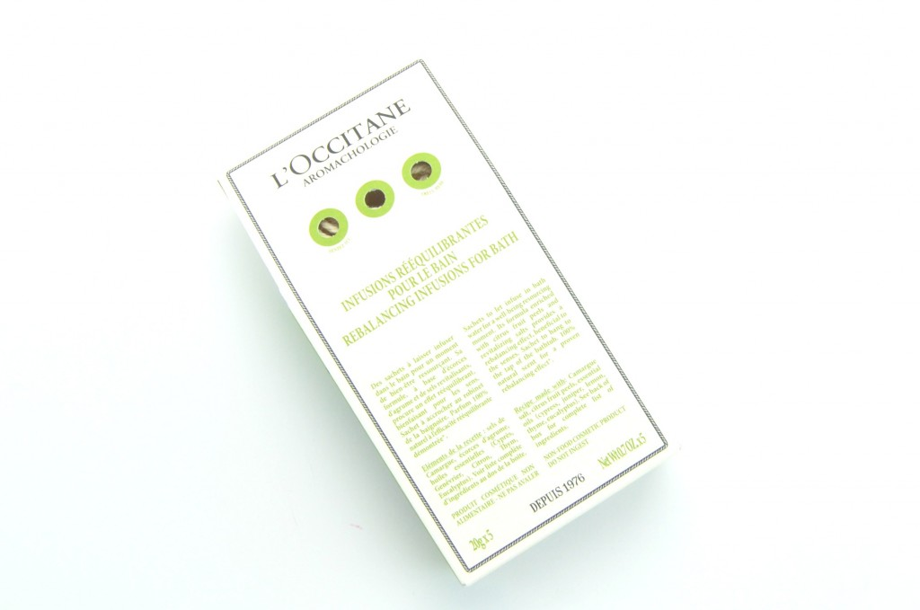 L'Occitane Rebalancing Infusions for Baths