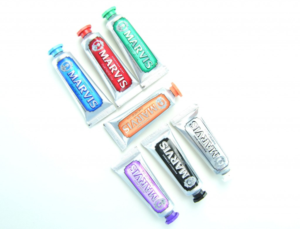 Marvis, marvis toothpaste, designer toothpaste, whitening toothpaste