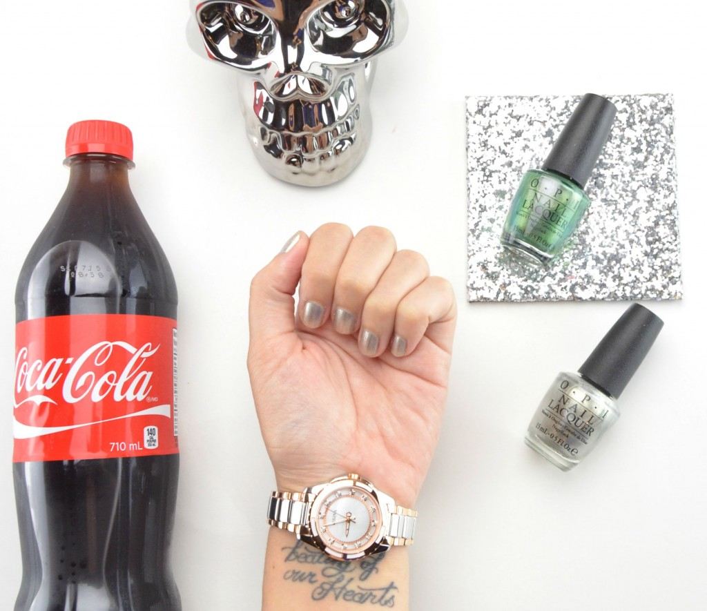 OPI Coca-Cola 2015 Two to Celebrate Set Review