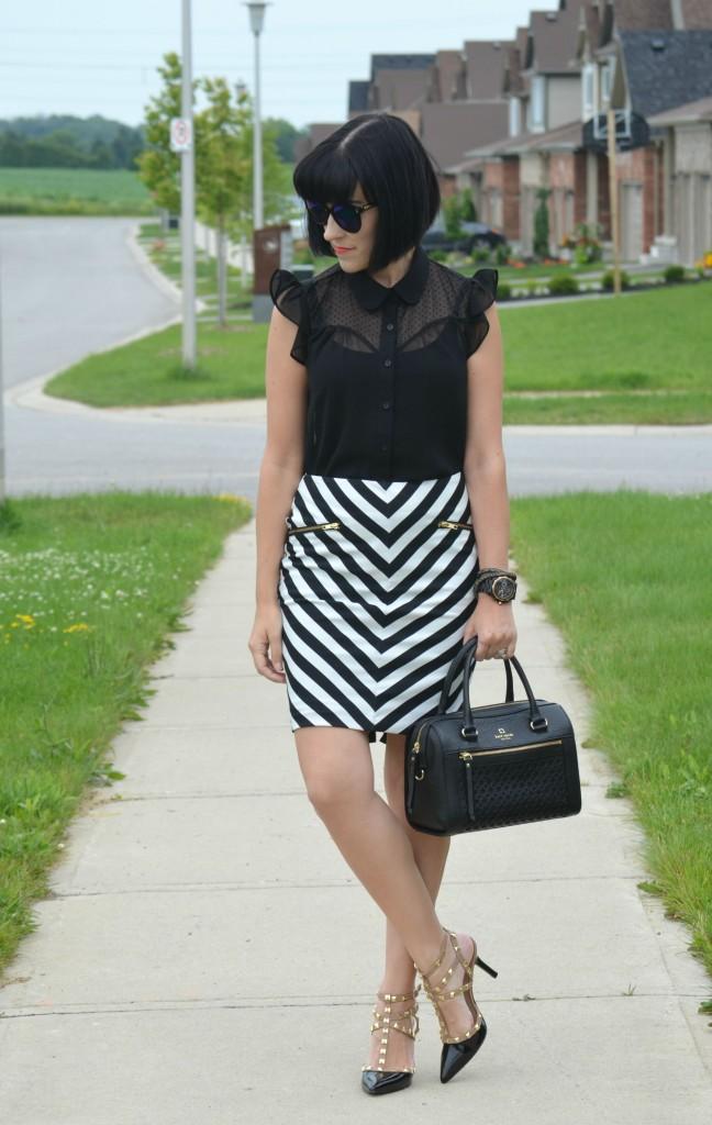 Striped skirt (3)
