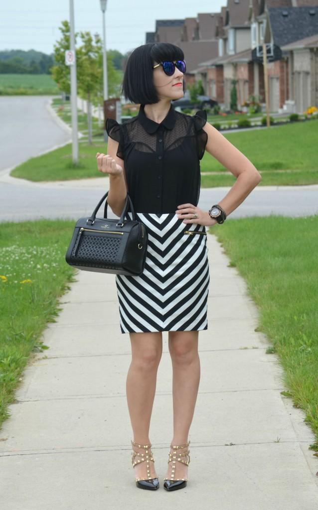 Striped skirt (4)