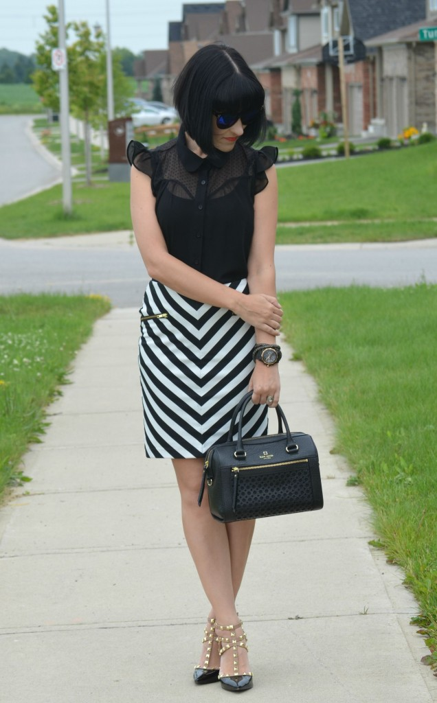 Striped skirt (5)