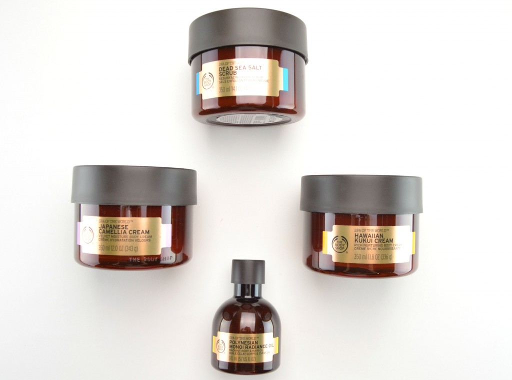 The Body Shop Spa Of The World Collection Review