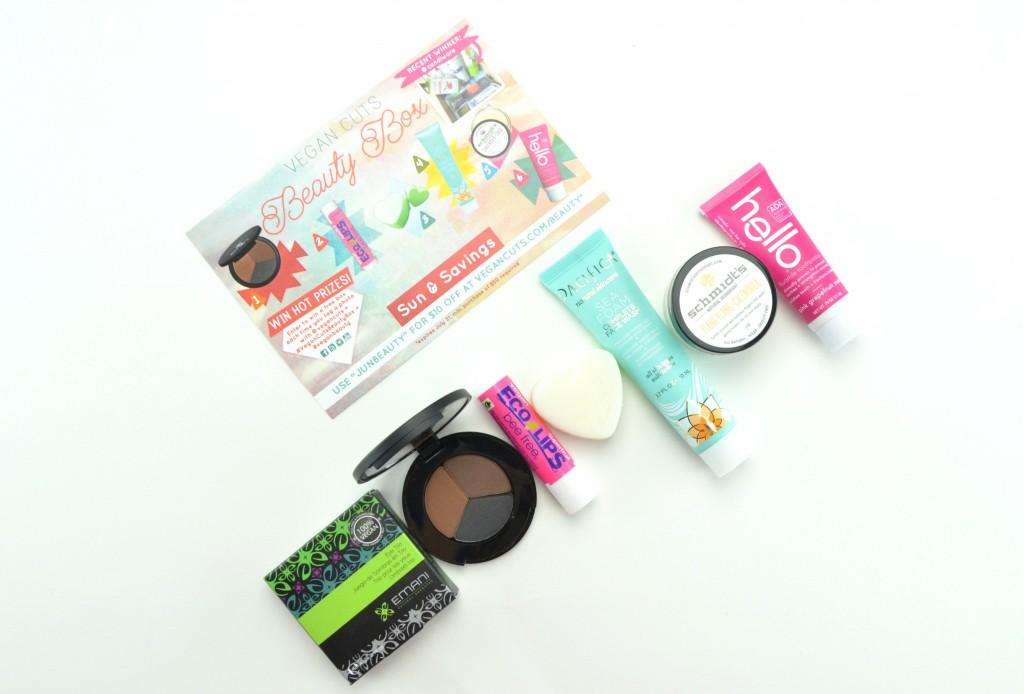 Vegan Cuts Beauty Box Subscription,  Vegan Cuts,  Beauty Box Subscription, canadian beauty blogger, vegan