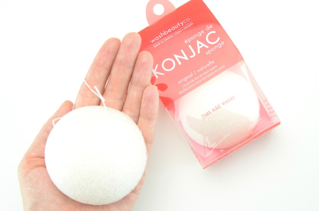 Washbeautyco, Konjac Sponge, Washbeautyco sponge, Konjac Sponge review, canadian beauty bloggers