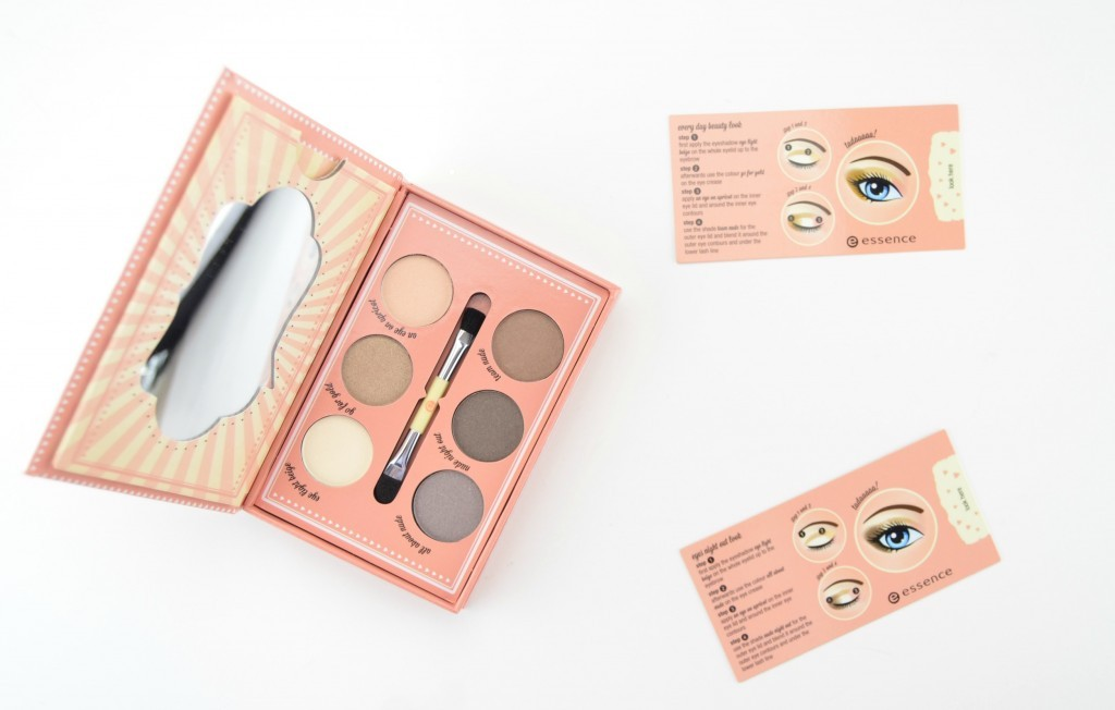 Essence How To Make Nude Eyes Make-Up Box