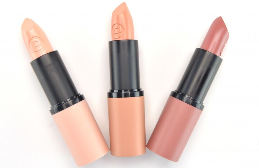 Essence Longlasting Lipstick Nudes