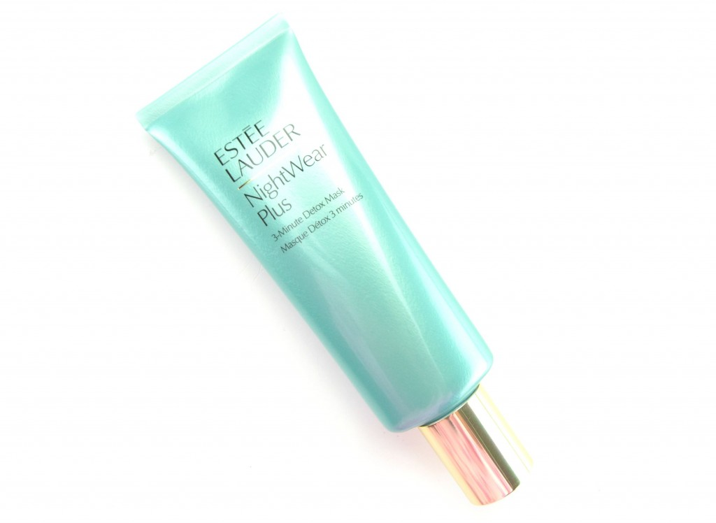 Estée Lauder mask, NightWear Plus 3-Minute, Detox Mask, 3 minute mask, canadian beauty blogger