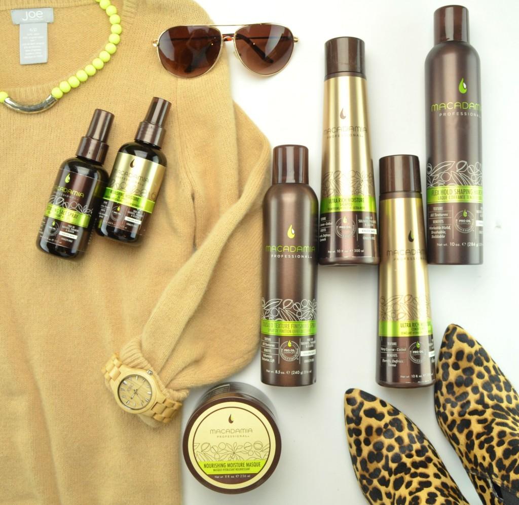 Nourish the Hair with Macadamia Professional