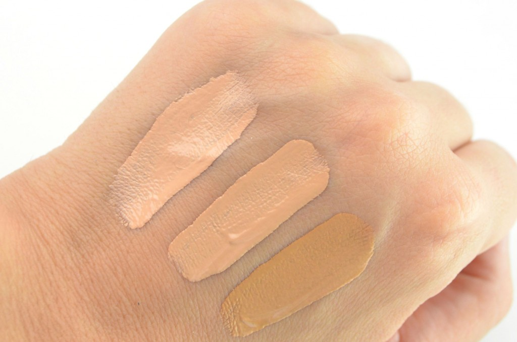Maybelline SuperStay Better Skin Foundation swatch