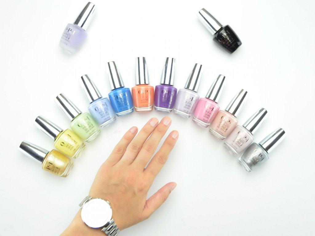 OPI Infinite Shine Summer 2015 Collection Review