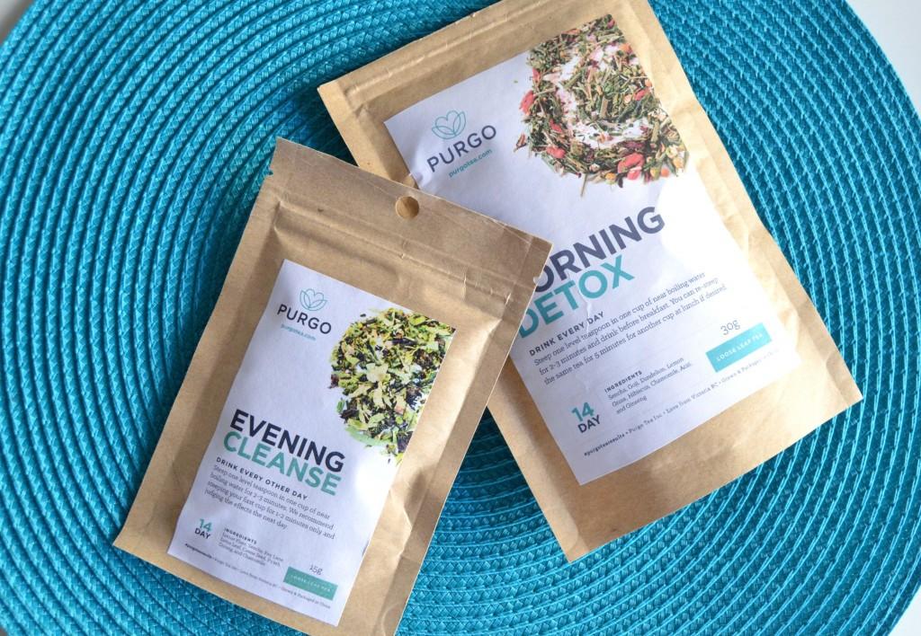 Purgo The Evening Cleanse, teatox, morning detox, purgo teas