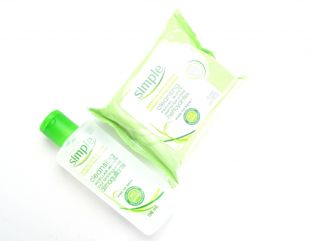 Simple Cleansing Facial Wipes, simple skin expert, simple skincare,