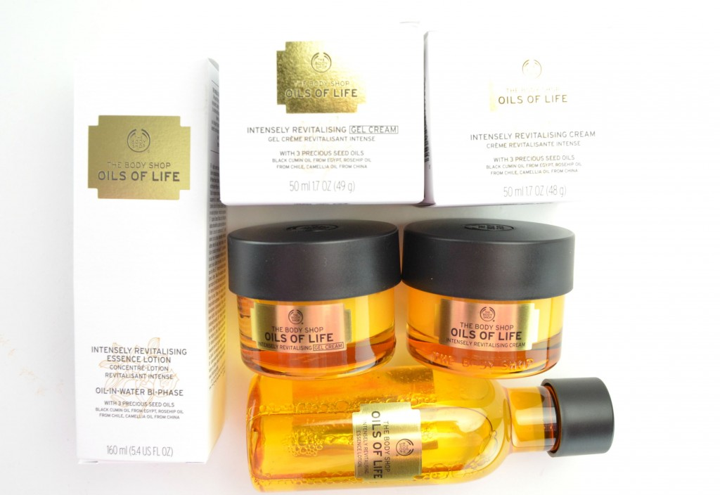 The Body Shop Oils Of Life, The Body Shop Fall 2015,  Oils Of Life