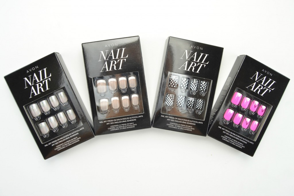 Avon press on nails, press-on nails, canadian beauty blogger