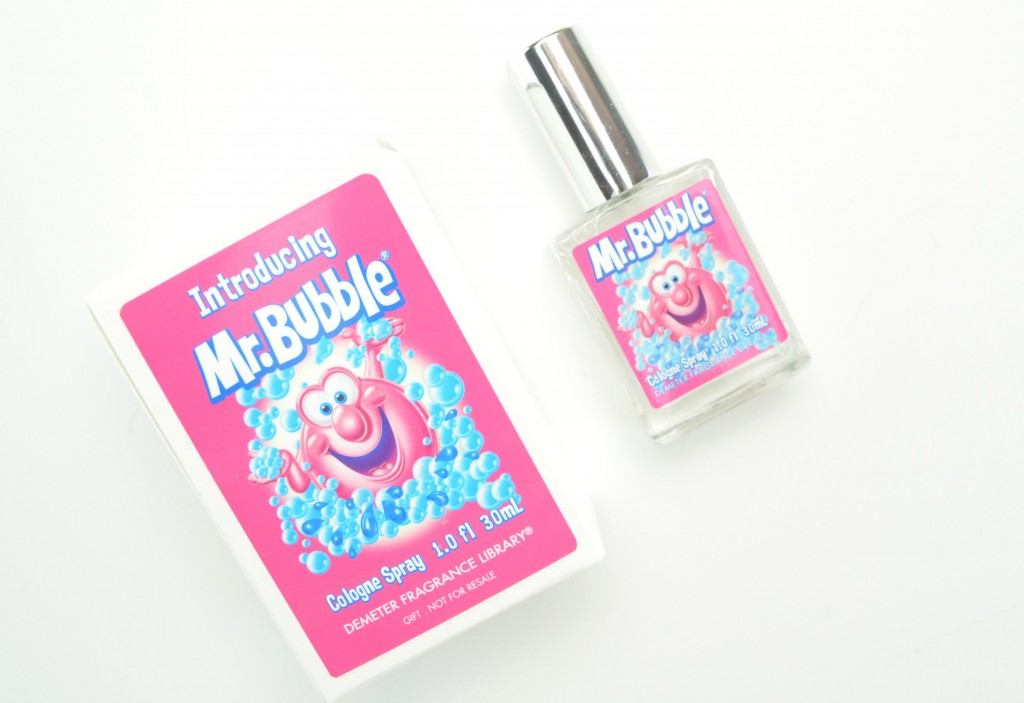 Demeter perfume, Mr. Bubble, Mr. Bubble perfume, canadian beauty blogger