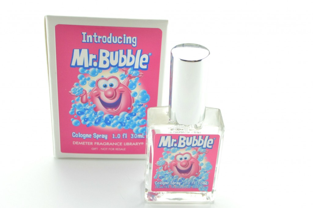 Demeter perfume, Mr. Bubble, Mr. Bubble perfume, canadian beauty blogger