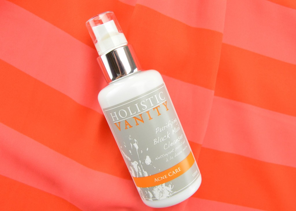Holistic Vanity Purifying Black Mud Cleanser