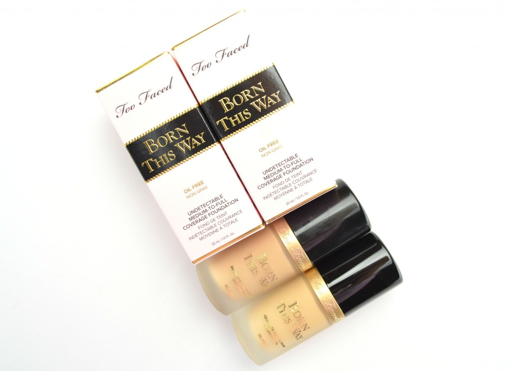 too faced foundation,  Born This Way Foundation, canadian beauty blogger