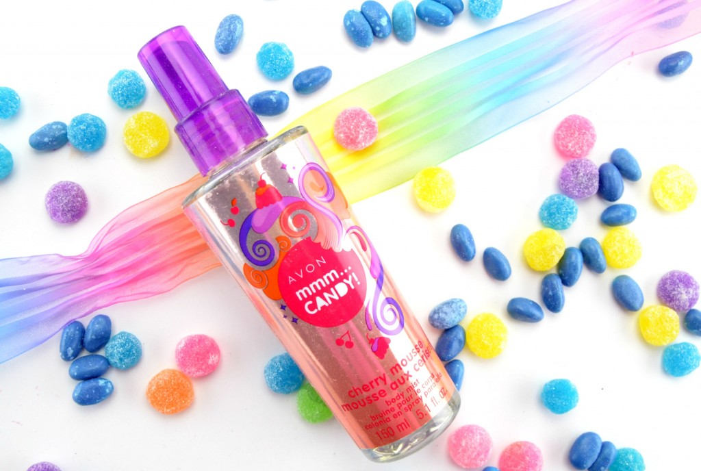 Avon MMM… Candy! Body Mist in Cherry Mousse