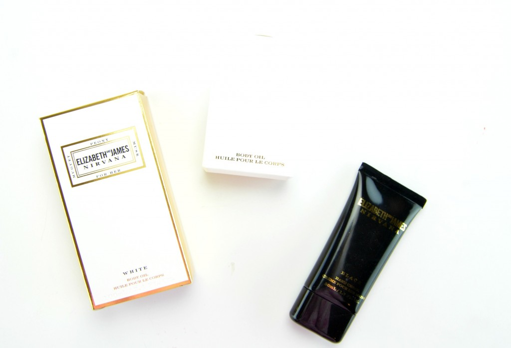 Elizabeth and James NIRVANA Fragrance Options for Hair and Body Review