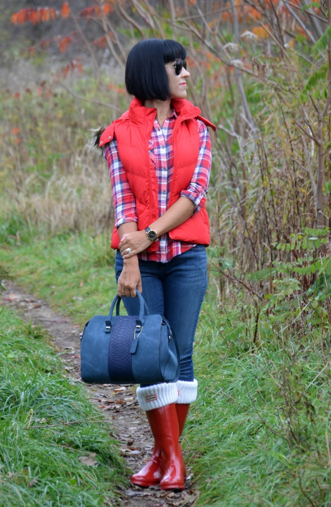 Red Hunter Boots (5)