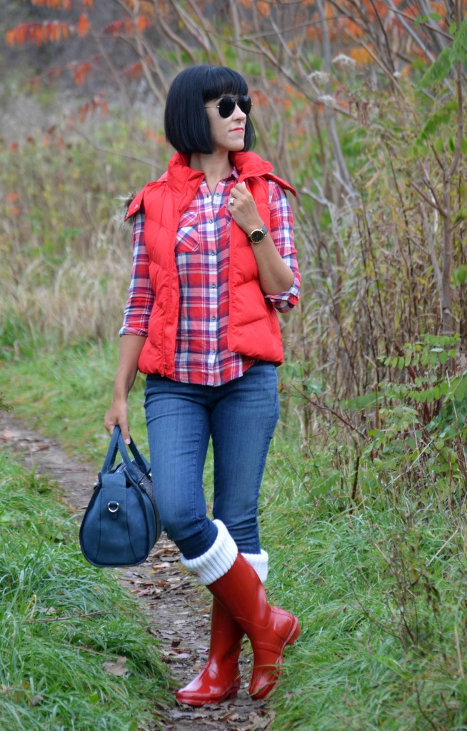 Red Hunter Boots (6)