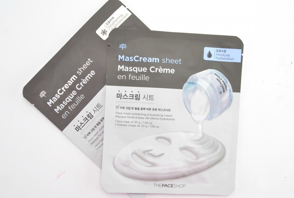 THEFACESHOP MasCream Moisturizing
