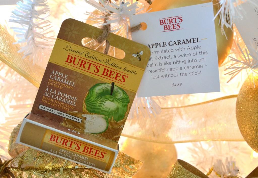 Burt's Bees apple caramel