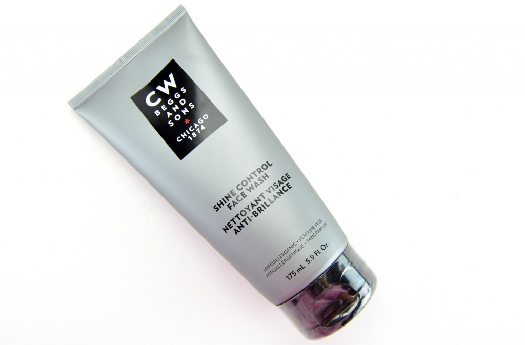 CW BEGGS and SONS Shine Control Face Wash