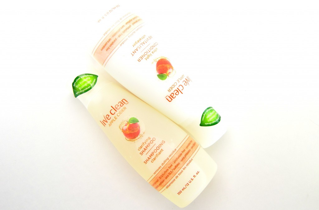 Live Clean Apple Cider Clarifying Shampoo and Conditioner