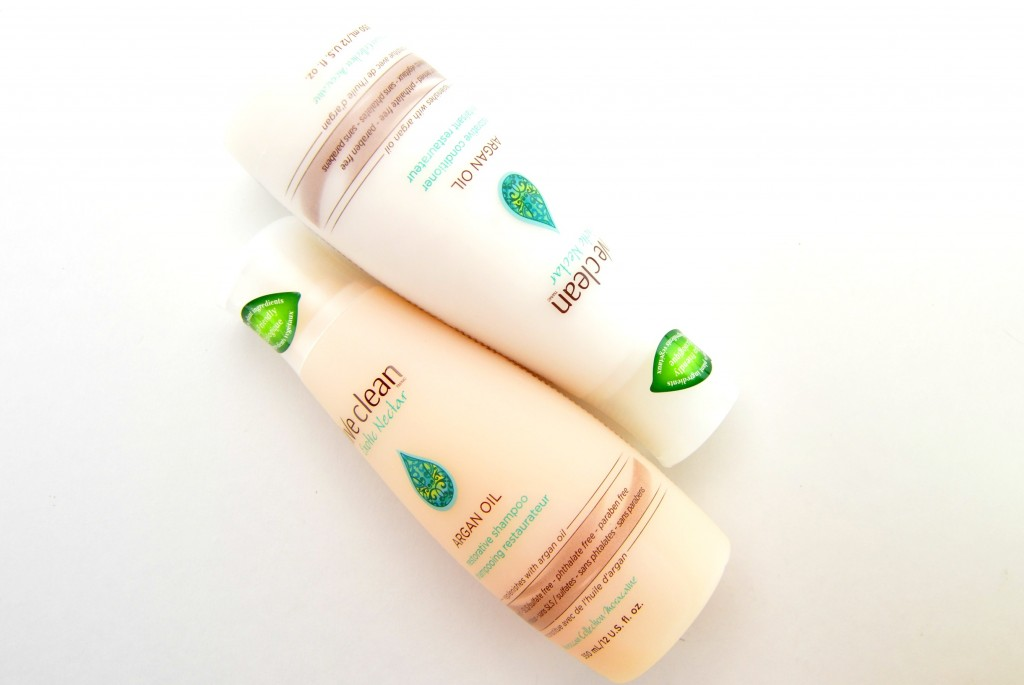 Live Clean Argan Oil Restorative Shampoo and Conditioner