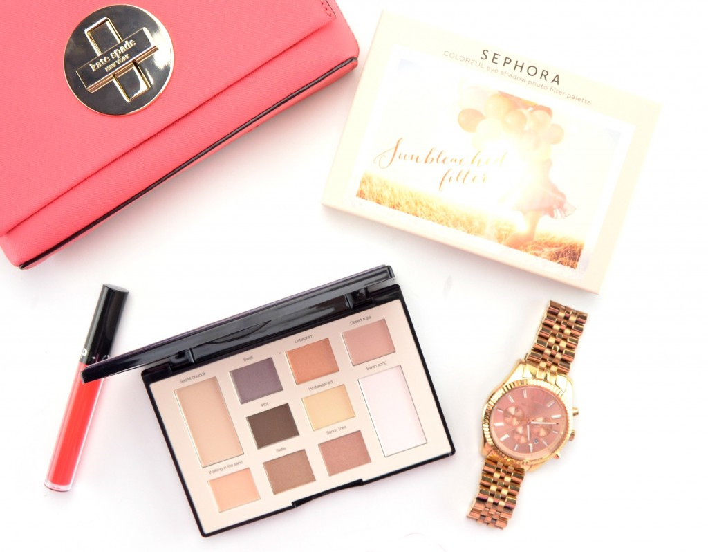 Sephora Sunbleached Filter Colorful Eyeshadow Palette Review