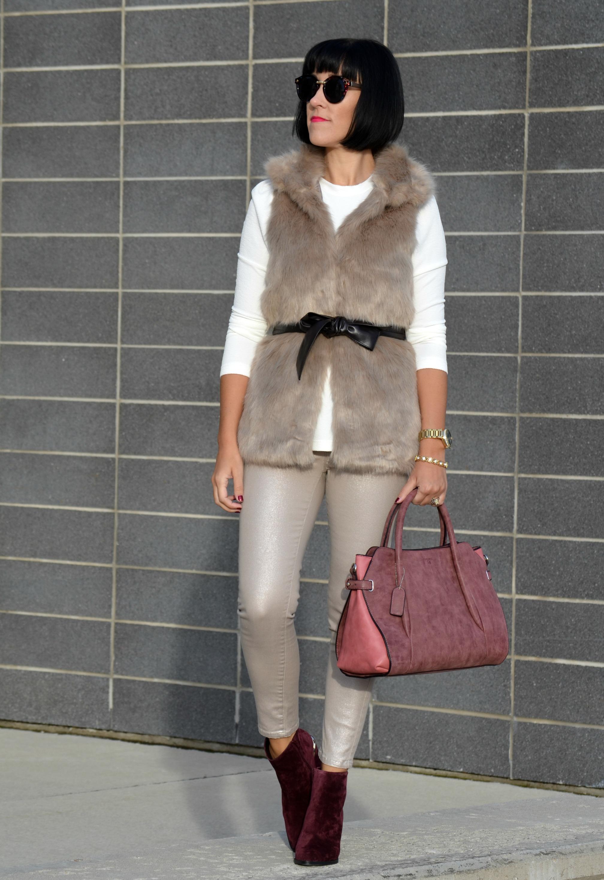 Faux Fur Vest (1)