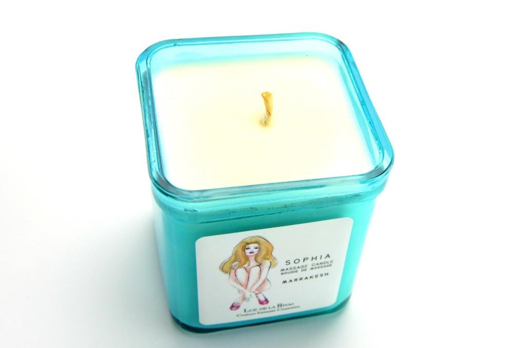 Luz de la Riva SOPHIA Organic Soy Wax Massage Candle