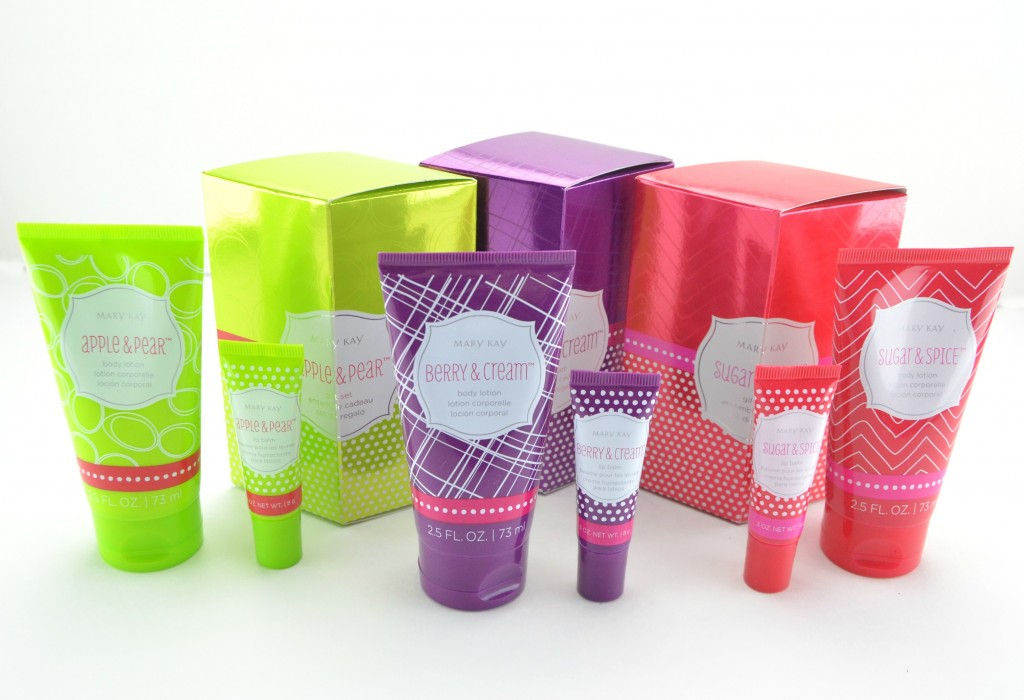 Mary Kat Body Lotion & Lip Balm Gift Sets