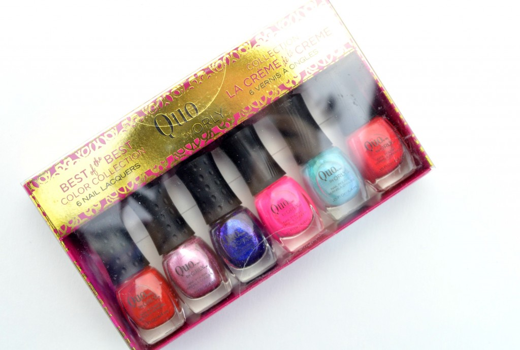 Quo by ORLY Best of the Best 6-Piece Mini Nail Lacquer Set