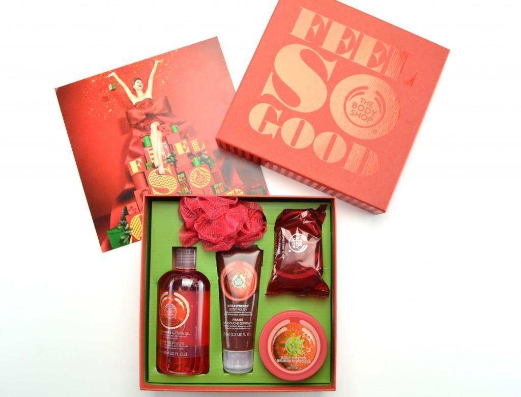 The Body Shop Strawberry Festive Picks