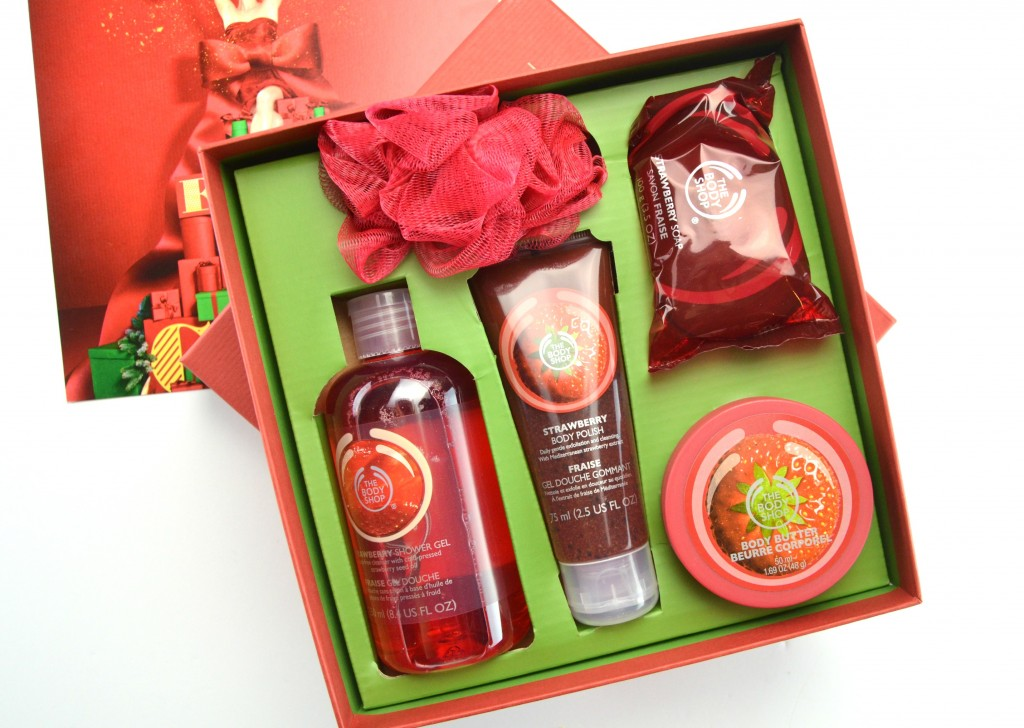 The Body Shop Strawberry Festive Picks