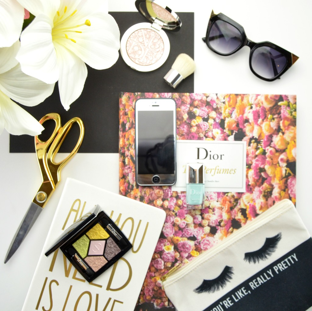 Dior Glowing Gardens Spring 2016 Collection Review