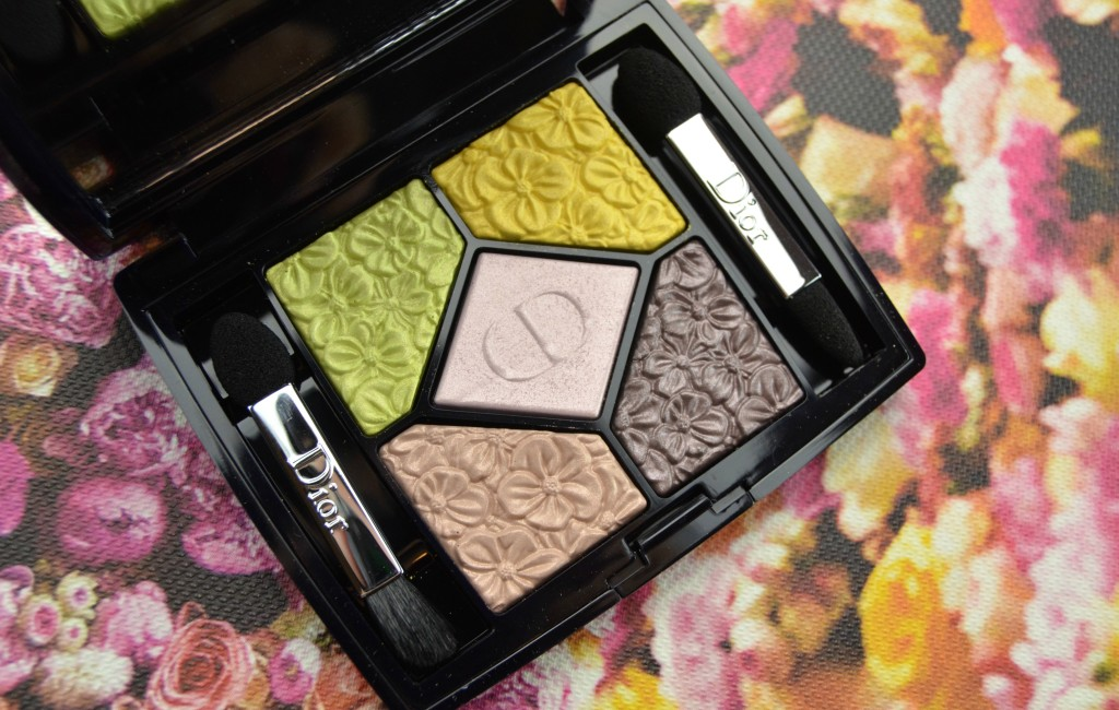Dior 5 Couleurs Glowing Gardens Palette in Rose Garden