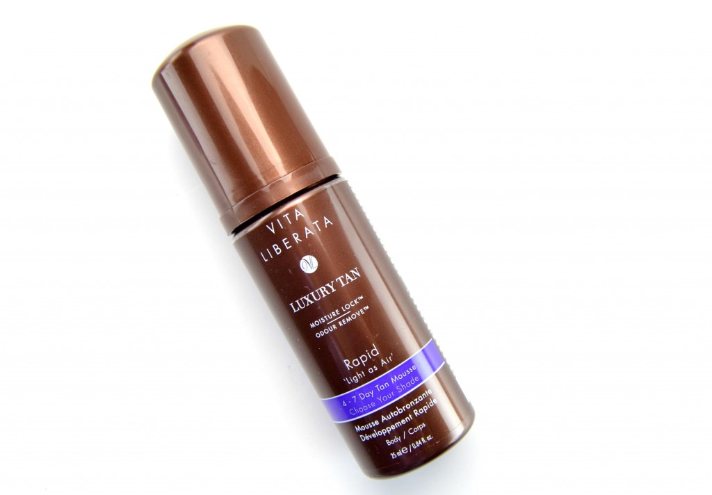 Rapid Fast Acting Tan Mousse