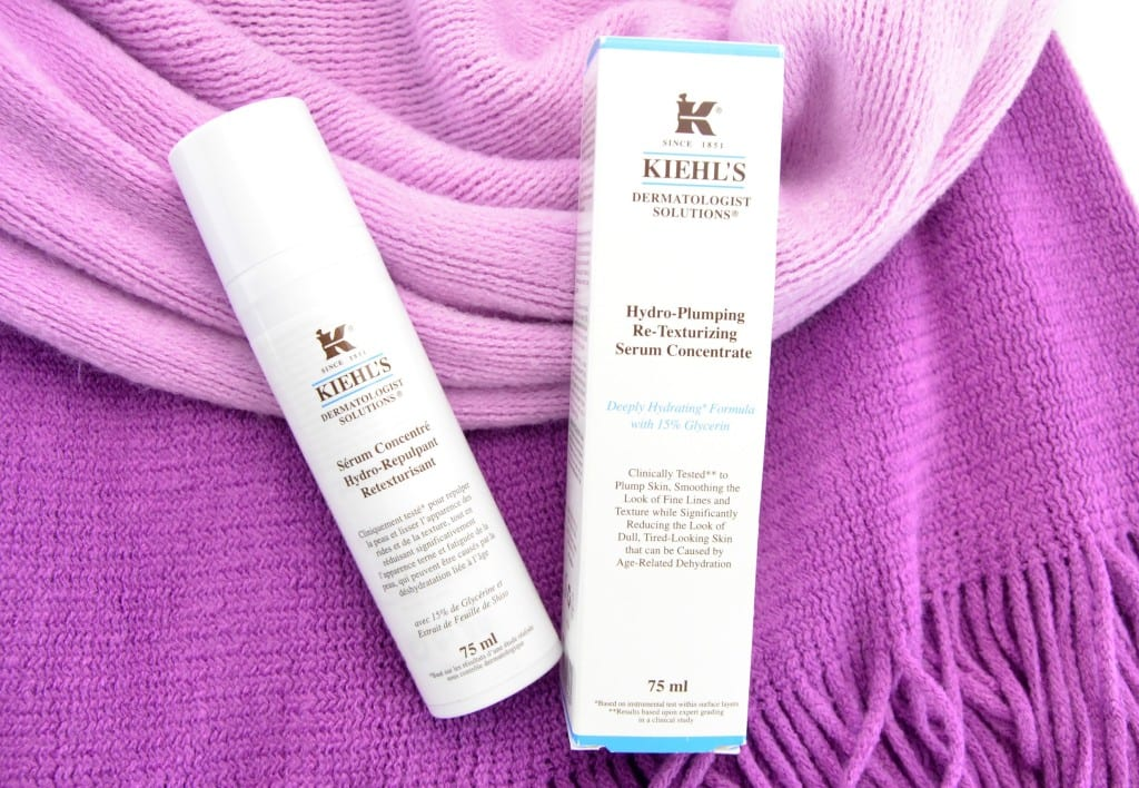 Kiehl's Hydro-Plumping Re-Texturizing Serum Concentrate's