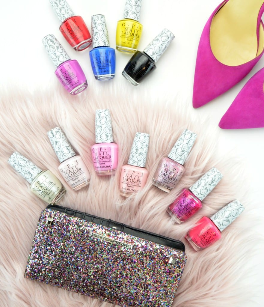 OPI Hello Kitty 2016 Collection Review