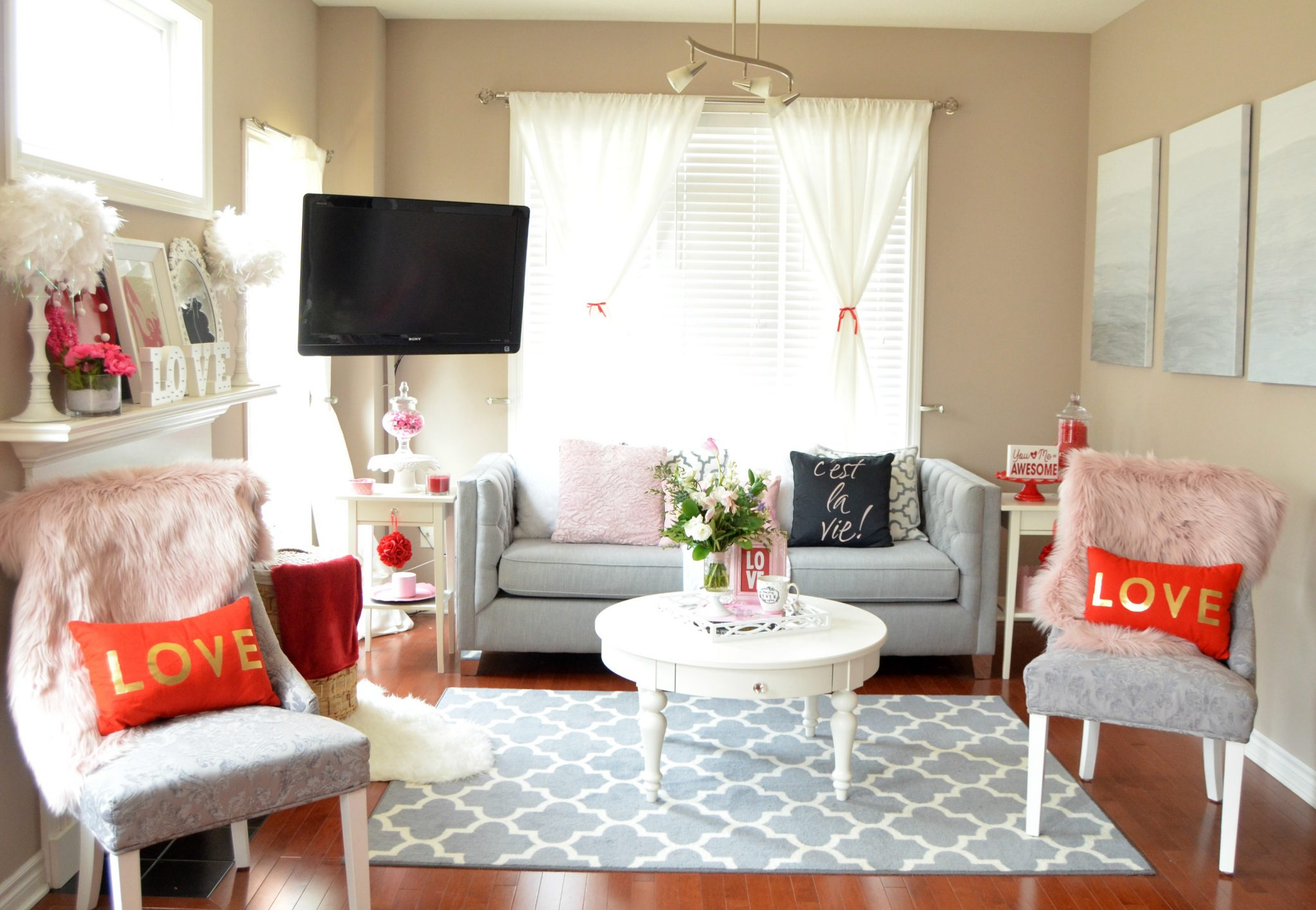 Valentines day Home Decor - Canadian Fashionista