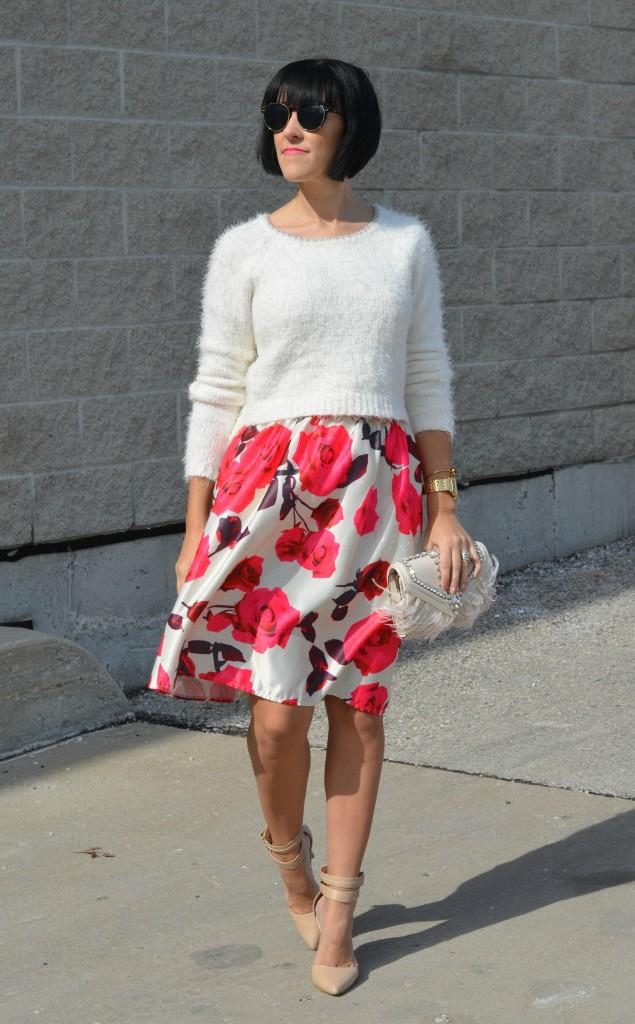 Floral Skirt (1)