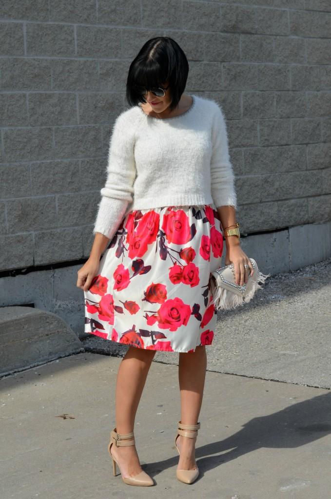 Floral Skirt (2)